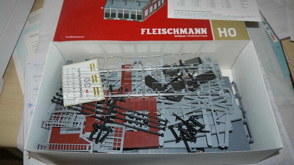 Fleischmann 1 x 6476  Remisse 3 porto H0 til dr...