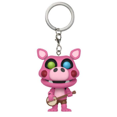 Keychain Five Nights at Freddy/'s Pizzeria Simulator PIG PATCH Funko Pocket POP