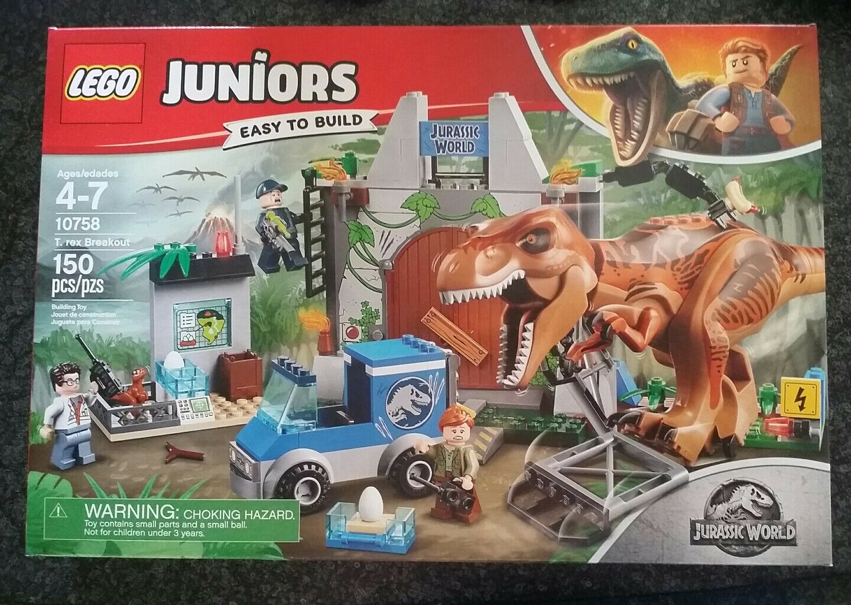 Nuovo LEGO 10758 Jurassic World Juniors T. Rex Breakout