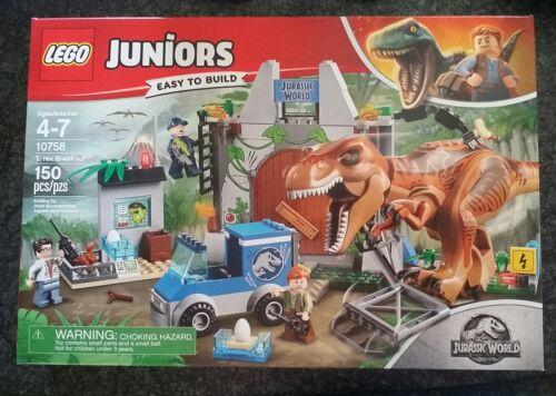 New LEGO 10758 Jurassic World Juniors T. Rex Breakout