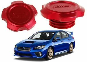 Red-STI-Billet-Engine-Oil-Filler-Cap-Cover-For-Subaru-WRX-Impreza-Forester-New