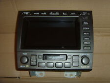 LEXUS GS300 NAVIGATION HEAD UNIT/SCREEN  861203A602