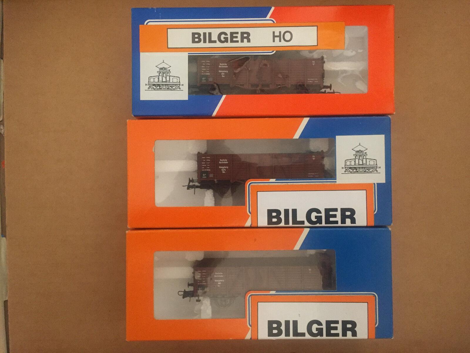 Bilger ho (roco-base) 3 x elevado a bordo del Cochero drart.nr 22402 22402 22201 nuevo + embalaje original