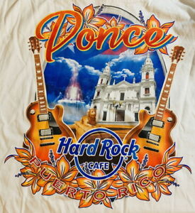Hard-Rock-Cafe-PONCE-PR-2020-City-Tee-T-SHIRT-2X-XXL-Men-039-s-White-New-with-Tags