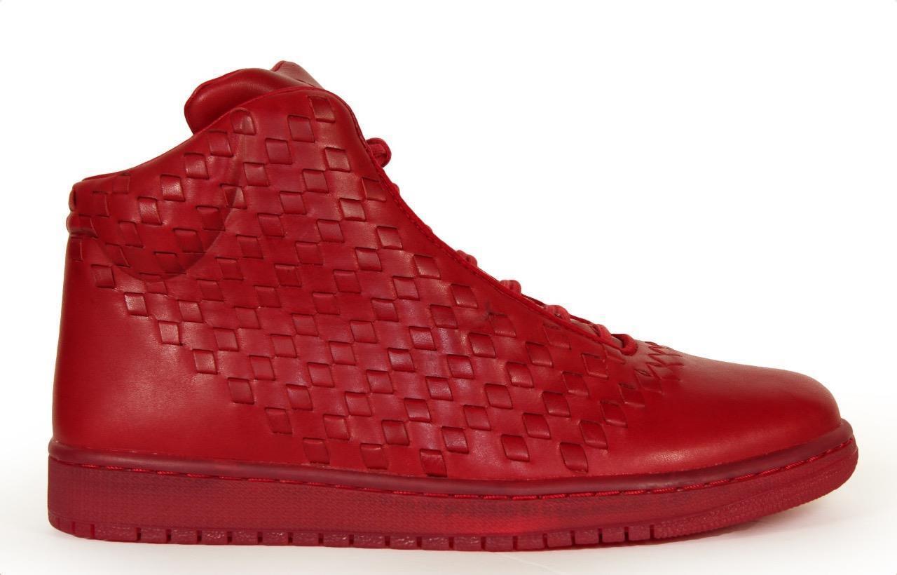 Nike air jordan 689480 glanz lux rote premium leder luxus 689480 jordan 600 sz 10,5 - 14. 1997b1