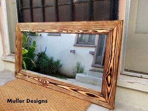 Image Is Loading Reclaimed Wood Mirror Vanity Bathroom Mirrors Wall