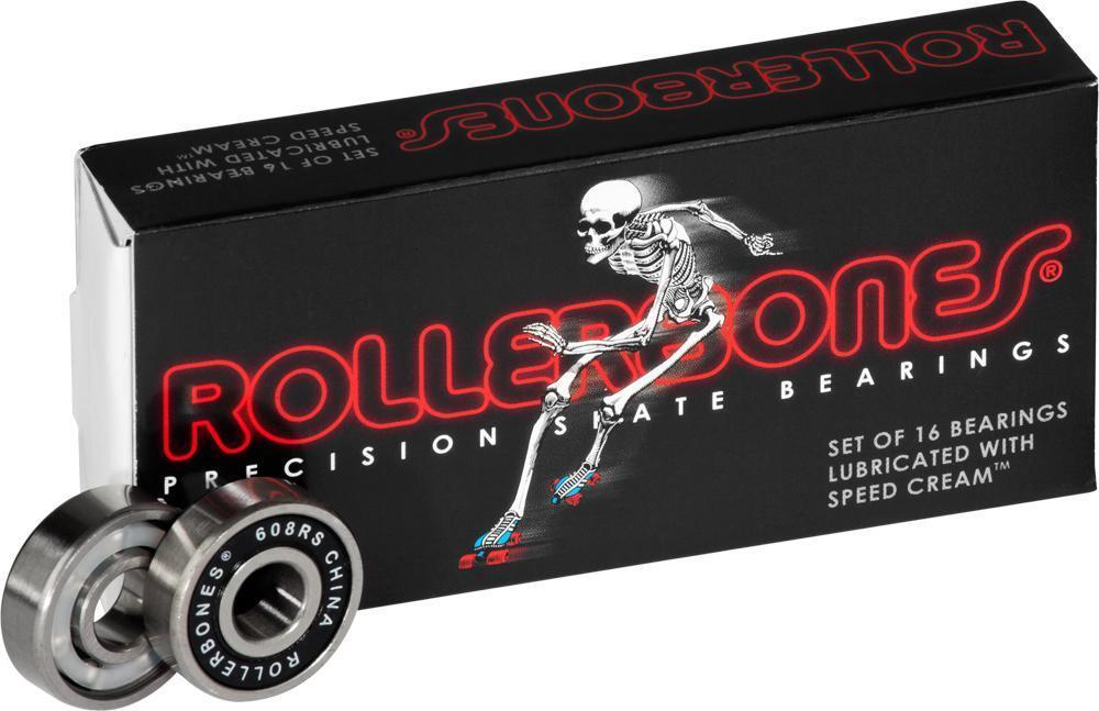 Roller BONES - Roller Derby S  Bearings  - Set of 16 - Inline & Quad S   on sale