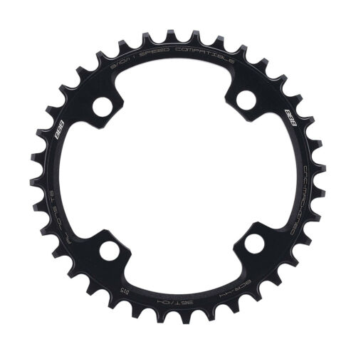 BBB MTBGear Narrow Wide Single Chainring 104mm BCR44 Black