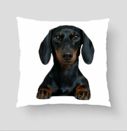 Lovely Dog Animal Pattern Waist Cushion Cover Throw Pillow Case Car Home Decor