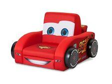 Cars 3D Kindersessel gepolstert Holz Sessel Sofa Couch Stuhl Hocker Kindersofa