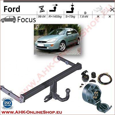 Für Ford Focus Fließheck 1998-2004 Anhängerkupplung abnehmbar