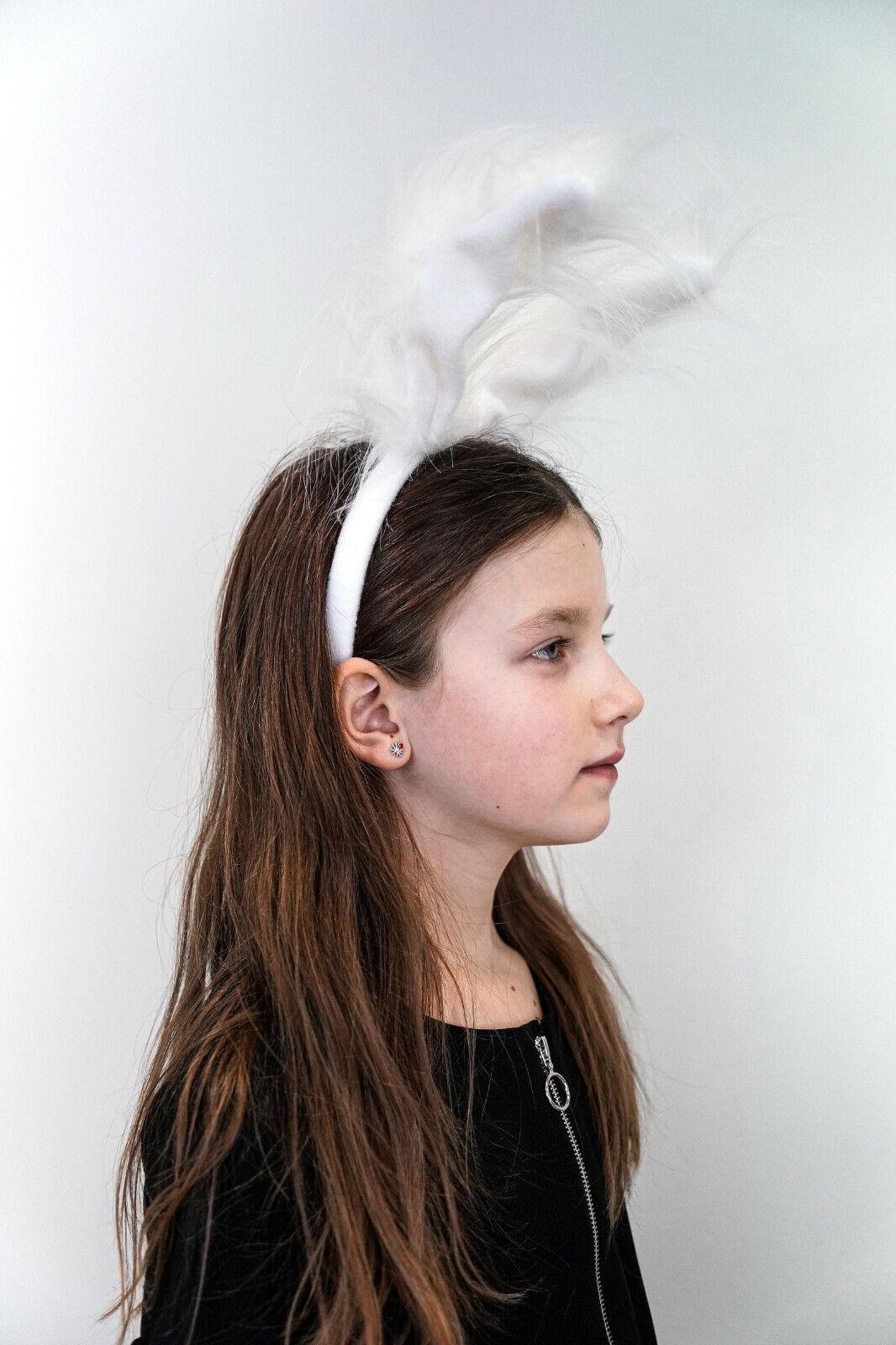 Rabbit Ear Headband - Handmade Costume - Women Costume - Halloween Cost
