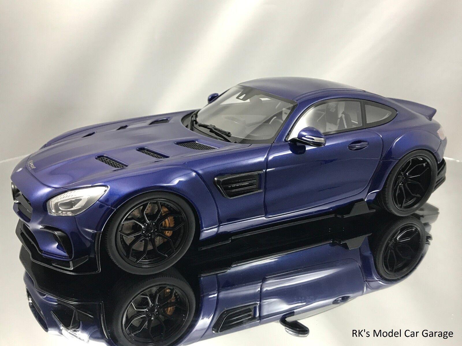 GT Spirit Mercedes Benz AMG GT S Coupe C150 modificado por antes de Diseño Azul