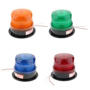 24V-Autos-Magnetic-Screw-LED-Emergency-Beacon-Flash-Strobe-Warning-Light