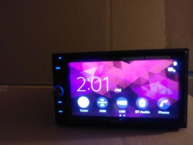 """Sony XAV-AX100 6.4"""" Apple CarPlay Android Auto Media Receiver Bluetooth"""