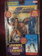Marvel Legends Apocalypse Series Variant Unmasked Wolverine