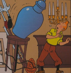 Herge-by-Tintin-the-Secret-de-La-Unicorn-3-Lithographs-2010