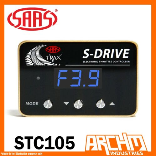 SAAS S Drive Electronic Throttle Controller for Isuzu D-Max MU-X 2014-ON STC105