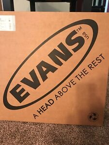 Alerte Evans Ec2 Sst Clear Batter Drumhead 18 In (environ 45.72 Cm)-afficher Le Titre D'origine Gagner Une Grande Admiration