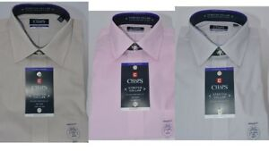 Men-039-s-Chaps-Regular-Fit-No-Iron-Stretch-Spread-Collar-Dress-Shirt-New