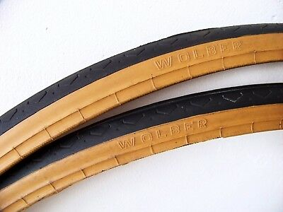 Michelin Pro 3 Race Yellow.  700-23 tyres  // NOS Two