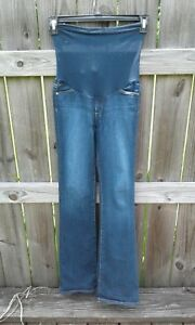 b96bf8f6e3f5c Image is loading Maternity-Blue-Jeans-P-Collection-Size-27R-GUC