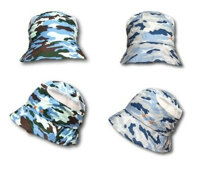 Boys Child Kids Spring//Autumn Cotton Hat Cap Warmer Beanie Camouflage 6-7 Years