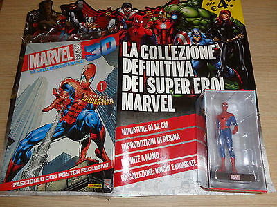 MARVEL HEROES 3D LA COLLEZIONE UFFICIALE AMAZING SPIDER-MAN N° 1 SUPER EROI