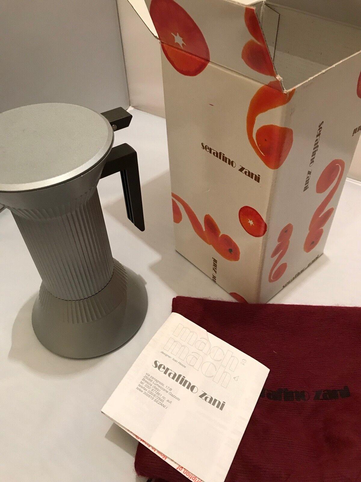Nouveau-Serafino Zani Mach coffee pot par Isao hosee Sam Ribet-Mach 4