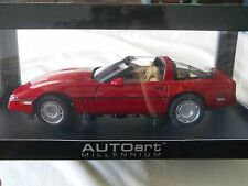 AUTOart 1986 Chevrolet Corvette Red 1:18 Diecast