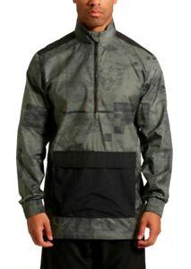 c90f428b4960 NWT  80 Puma Men s Energy Printed Half-Zip Windbreaker Jacket CASTOR ...