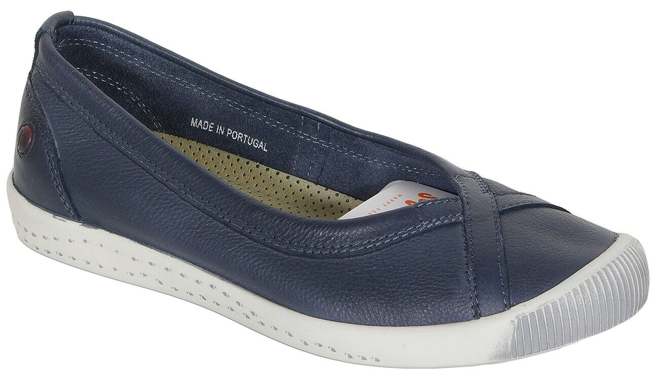 Promotion Softinos Ilma ballets washed navy