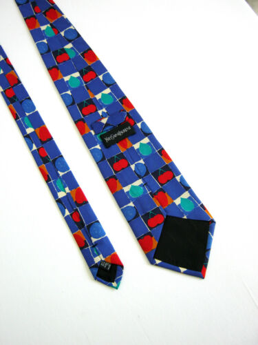 Saint Nouvelle Soie Yves 100 Cravatta Laurent Champignon Cravate Origine Paris Nuova dTrwYxrz