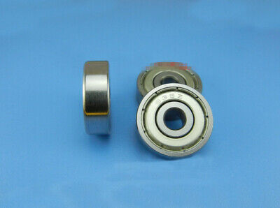7x19x6 mm Flange Metal Double Shielded Ball Bearing F607z F607zz 5 PCS