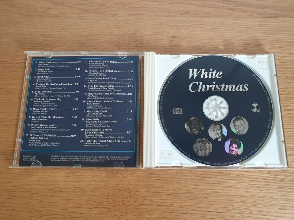 Diverse Kunstnere: White Christmas (Original Artists),