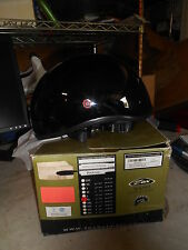 NOS ZOX NANO Black Old School XL Helmet Z88-00205