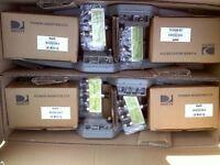 Lot 4 Directv Swm Sl5 Lnb Kits + Pi21 Power Inserters 4-way Splitters Swm5 Lnb5