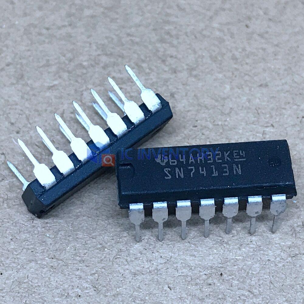 2 piece-sn49713n Ti dip14 Dual 3-input NAND Schmitt Trigger 2pcs