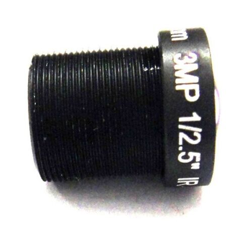 """1//2.5/"""" HD 3mp 6mm 68 degrees IR Board CCTV Lens M12*0.5 for Security IP Camera"""