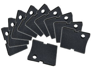 Replacement-Hydor-150-Black-Coarse-Foam-Filter-Pads-10-Pack