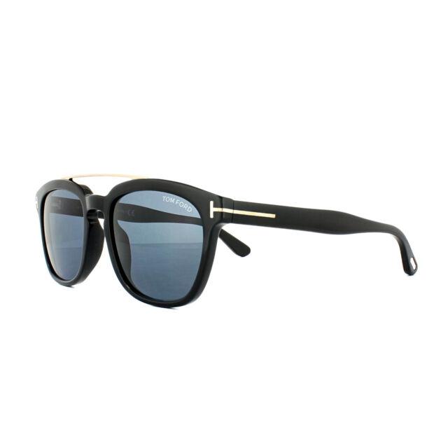 Tom Ford Sunglasses 0516 Holt 01A Shiny Black Grey