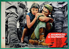 T34 FOTOBUSTA L'AVAMPOSTO DEI DISPERATI TOSHIRO MIFUNE KIHACHI OKAMOTO SATOH 4