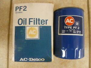 AC Delco PF2 Duraguard Engine Oil Filter, Ford/Mopar