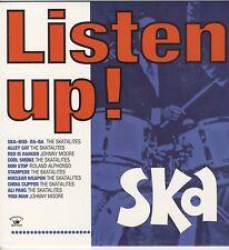 VARIOUS - Listen Up! - Ska NEW CD £9.99 KINGSTON SOUNDS
