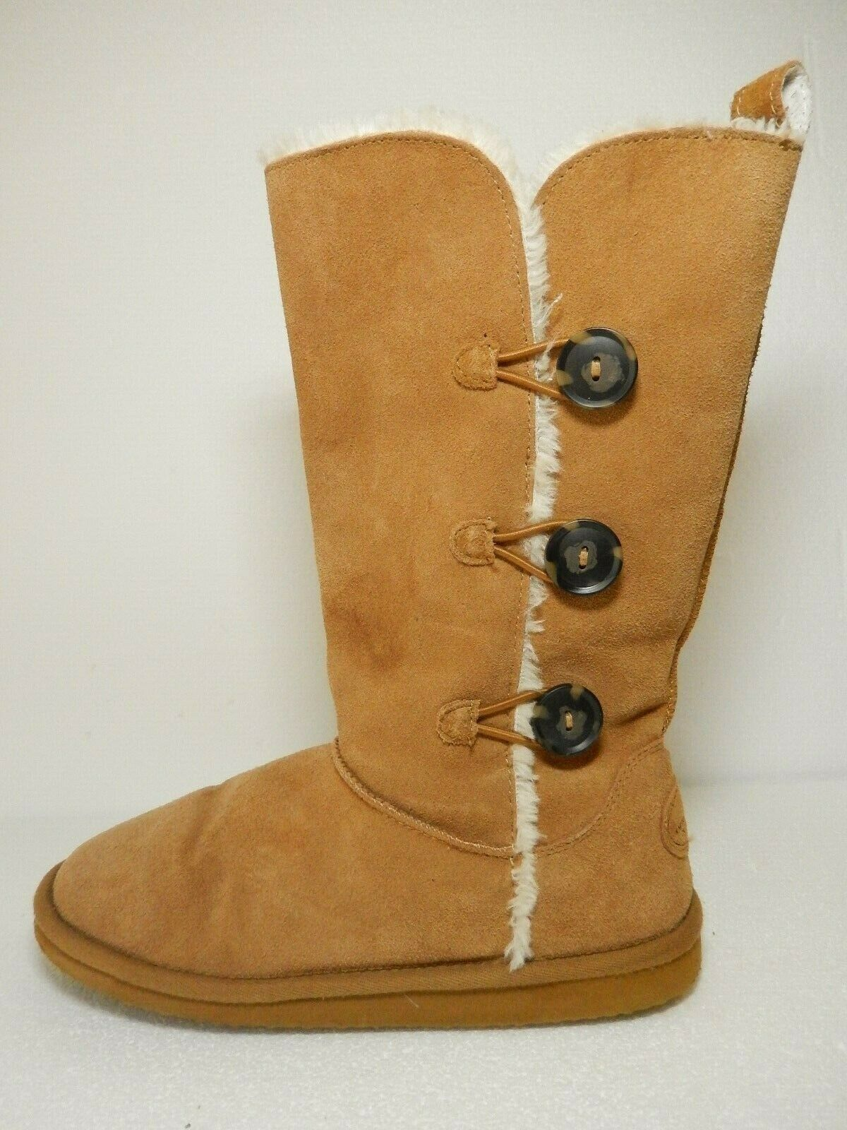 NICE American Eagle Outfitters Women's Suede Faux Fur Lined Boots Size US 10M