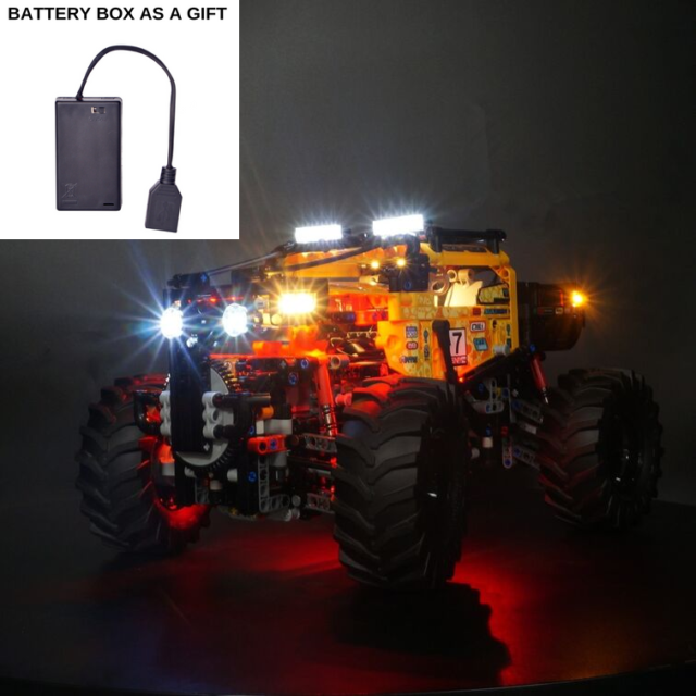 led light kit for LEGO Technic 4x4 X-Treme Off-Roader (42099) Bricks 4x4 X-Treme