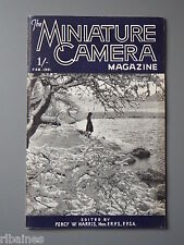 R&L Vintage Mag, The Miniature Camera February 1951, Pacemaker Graphic Accessori