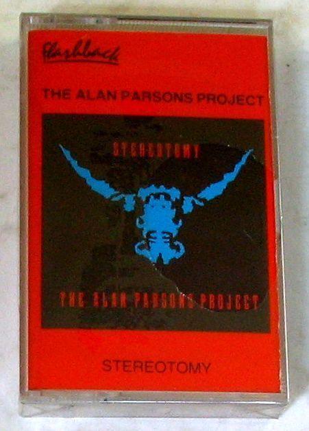 ALAN PARSONS PROJECT - STEREOTOMY - Musicassetta  Cassette Tape MC K7 - Sealed