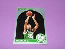 43 REGGIE LEWIS BOSTON CELTICS 1990 NBA HOOPS BASKETBALL