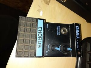 VINTAGE YAMAHA CH-10M II CHORUS PEDAL-DID PAGE USE THIS MODEL? FREE FREIGHT